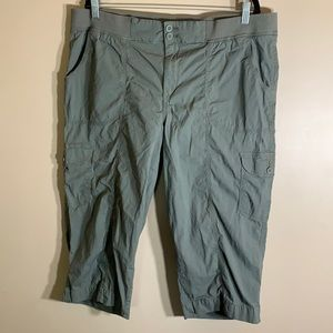 George Green Cargo Cropped Pants